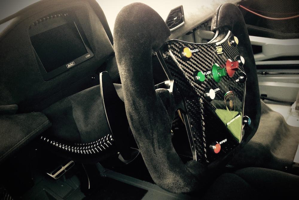 Batman Lamborghini Steering Wheel