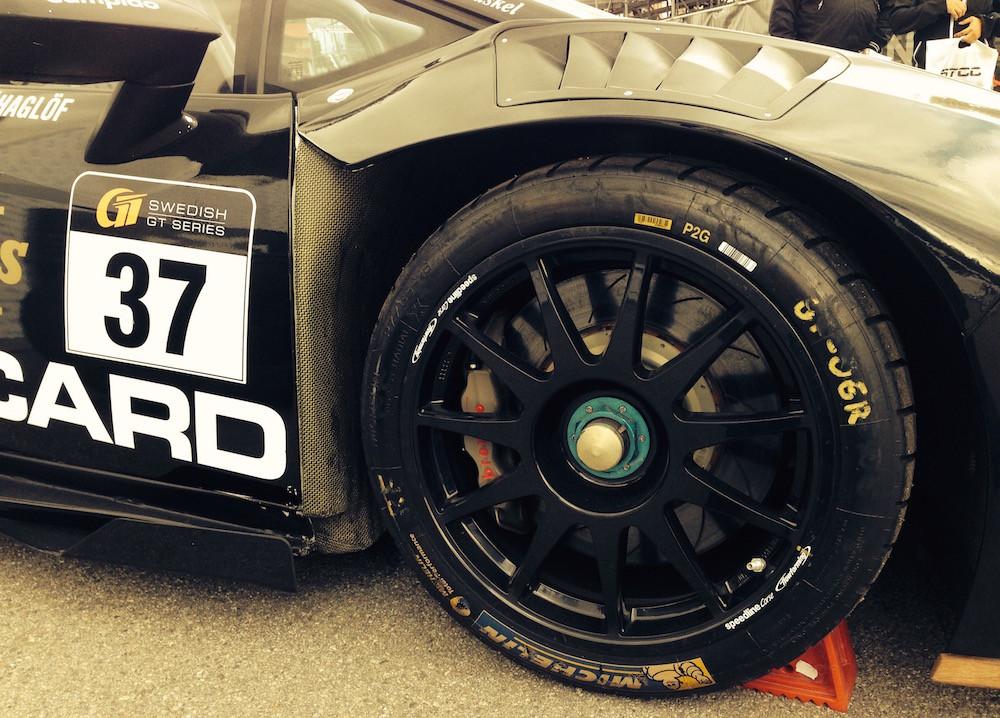 Batman Lamborghini Wheel