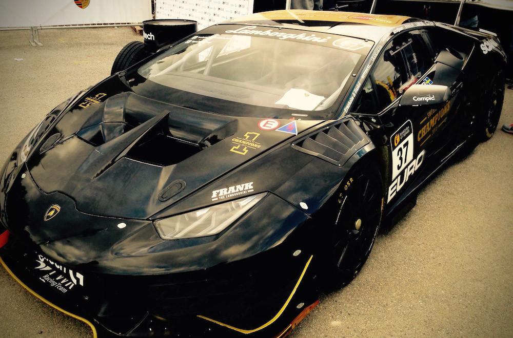 Batman's Lamborghini Front